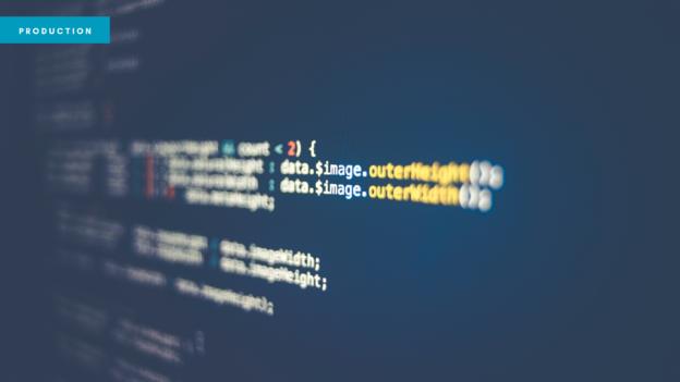 Website header showing code. Photo by Markus Spiske on Unsplash